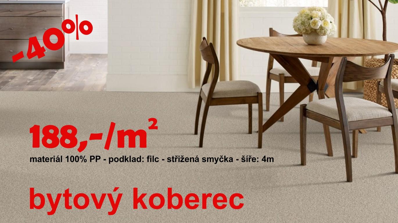 Luxusní bytový koberec s vysoku střiženou smyčkou. Ideální řešení pro Vás byt či jednotlivé pokoje. Koberec zaručuje vysokým komfort a pohodlí. VÍCE ZDE