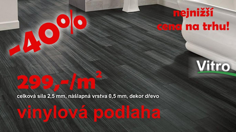 Vysoce odolné vinylové dílce určené jak pro domácnost tak do komerčních prostor. Díky speciální PU povrchové úpravě je údržba velice snadná a celková struktura povrchu je k nerozeznání od dřeva. Vinylová Podlaha Vitro splňuje nejvyšší požadavky na výrobu bez ftalátů a změkčovadel. celková síla 2,5 mm, nášlapná vrstva 0,5 mm, třída zátěže 33-42, metráž v balení 3,3365 m2, rozměr lamely 184 x 1231 VÍCE ZDE