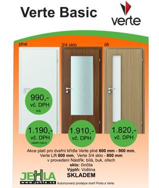 Verte Basic - dveře skladem