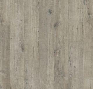 Quick step Livin Pulse Click Dub bavlna šedý s rezy pilou pulc 40106