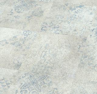 5869 Blue Stencil Concrete